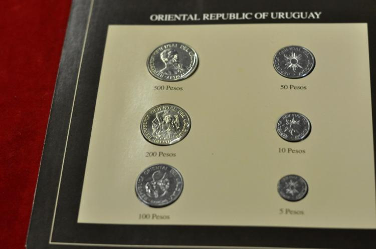 Coins of All Nations Set from Oriental Republic