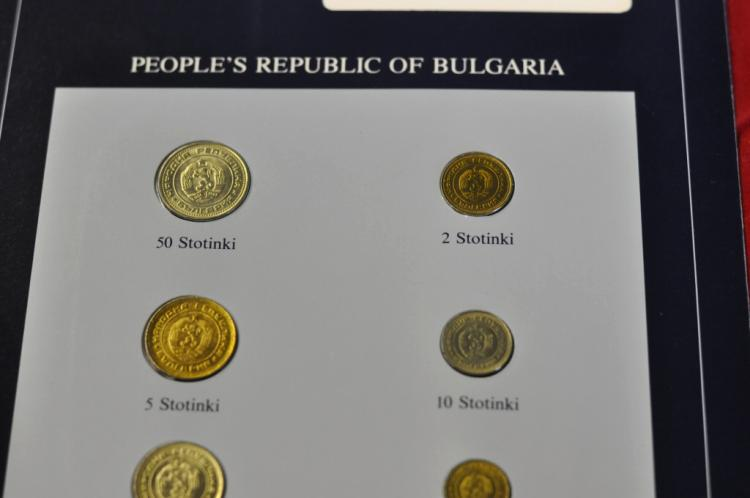 Coins of all Nations Set from People's Republic