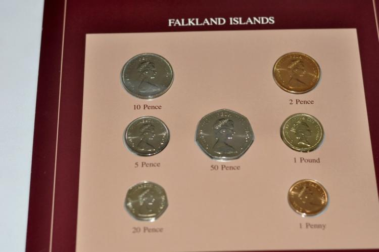 Coins of all Nations Set from Falkland Islands