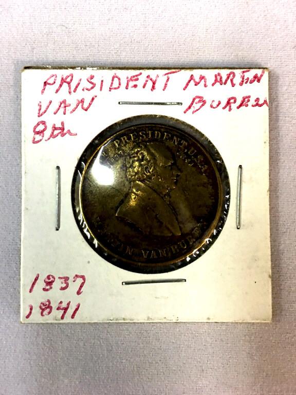 President Martin Van Buren Commemorative