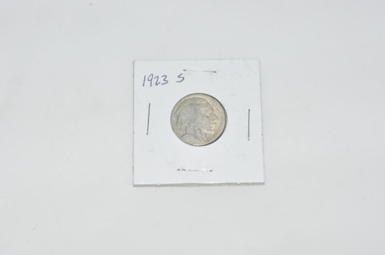 1923 S Buffalo Nickel Tougher Date
