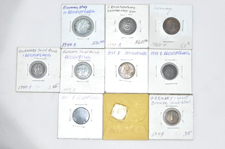 10 Coins from Germany