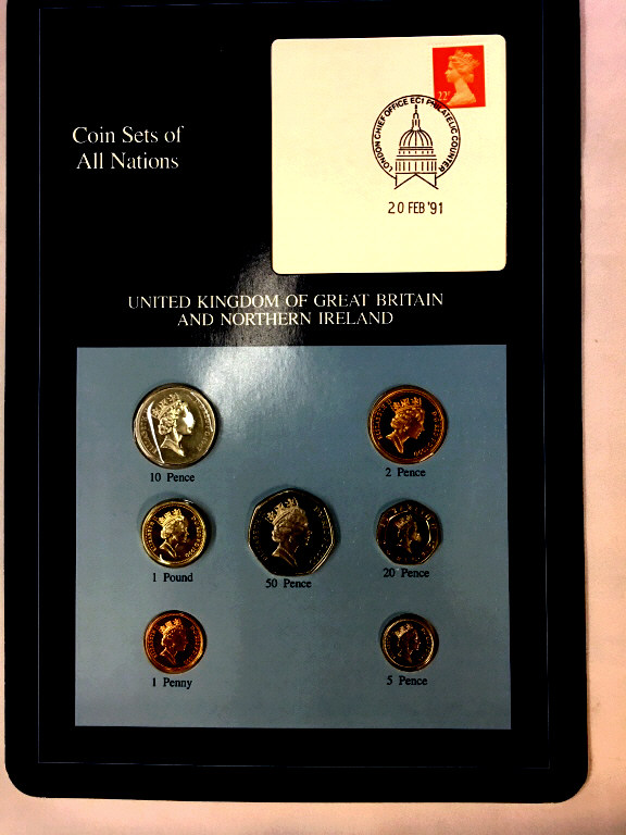 Coins of all Nations Set from United Kingdom of
