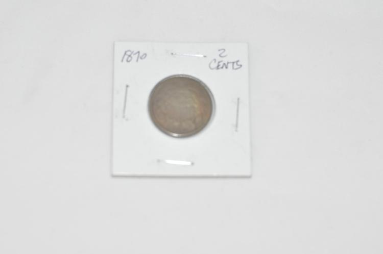 1870 2 Cents