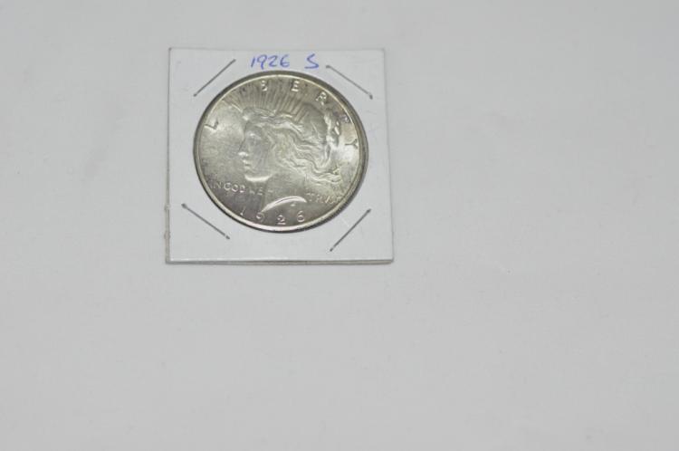 1926 S  Peace Silver Dollar High Grade