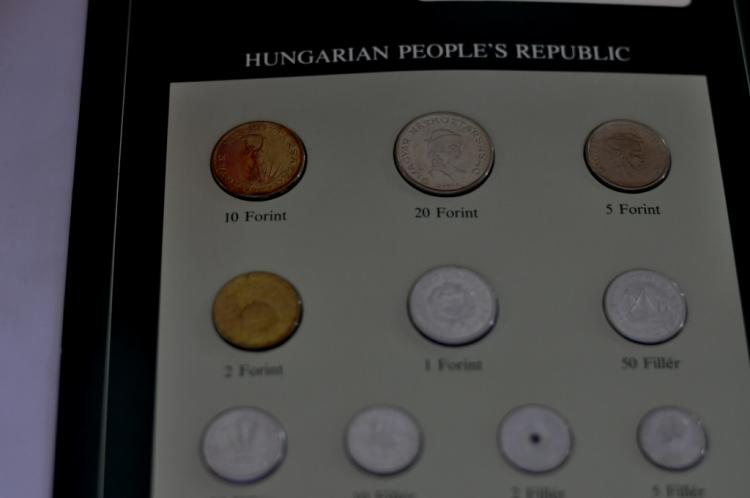 Coins of all Nations Set from Hungarian People's