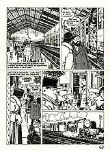 Jacques TARDI (né en 1946)  - Nestor Burma – 120, rue de la Gare