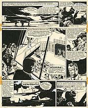 JIJÉ (1914-1980)  - Tanguy et Laverdure – Les vampires attaquent la nuit