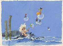 WILL (1927-2000)  - Quai des Bulles
