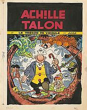 GREG (1931-1999)  - Achille Talon – Le trésor de Virgule