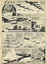 Victor HUBINON (1924-1979)  - Buck Danny – Un avion n'est pas rentré