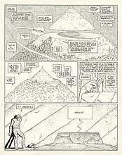 MOEBIUS (1938-2012)  - L'Incal – Ce qui est en haut
