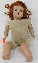 Vintage Horsman Baby Doll 22