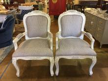 Vintage Fauteuil Chairs - A pair