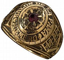 Significant Minnie Minoso Mexican Hall of Fame induction ring.