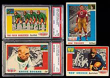 1955 Topps All-American complete set (GD-EX)