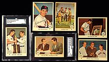 1959 Fleer Ted Williams baseball card set with