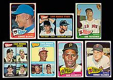 Exceptional 1965 Topps baseball master set in striking avg. EX/MT or better condition (Avg. EX/MT-NM)