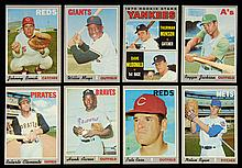 1970 Topps Baseball card set with many NM examples.