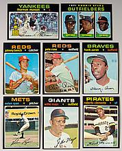 1971 Topps Baseball card set with many NM examples.