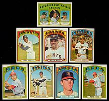 1972 Topps Baseball near complete set with many NM examples.