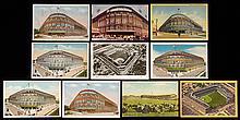 Lot of (32) Ebbets Field postcards c.1910s-50s (GD-EX)
