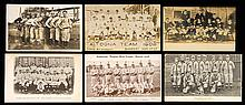 Lot of (15) c.1900s-1921 Baseball team postcards (mostly Minor League) (GD-EX)