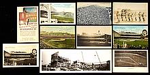 Lot of (85) c.1910s-60s New York Giants Polo Grounds and related postcards (GD-EX)