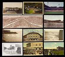 Lot of (135) c.1900s-70s Pittsburgh related postcards incl. (50+) Forbes Field (GD-NM)