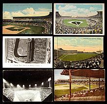Lot of (49) c.1910s-60s Comiskey Park postcards (GD-NM)