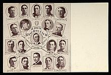 1906-07 W601 Sporting Life St. Louis Browns postcard (VG)