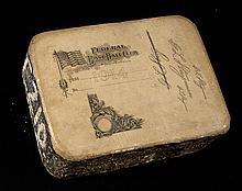 1914 Indianapolis Hoosiers Federal League season pass printing block (EX)