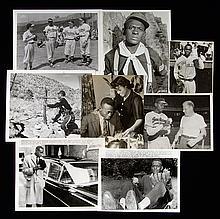 Lot of (8) c.1930s-60s Satchel Paige photographs (GD-EX/MT)