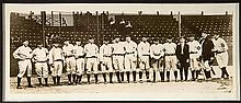 1913 Baltimore Orioles team photo with Babe Ruth (c.1930s print) (EX-EX/MT)