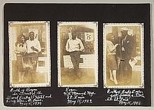 Rare c.1929 Kansas City Monarchs player snapshots incl. Rogan and Cooper.