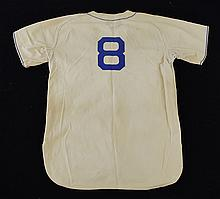 1947 George ÒShotgunÓ Shuba Mobile Bears professional model home jersey and pants.