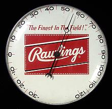 Rare c.1960s Rawlings advertising thermometor (EX/MT)