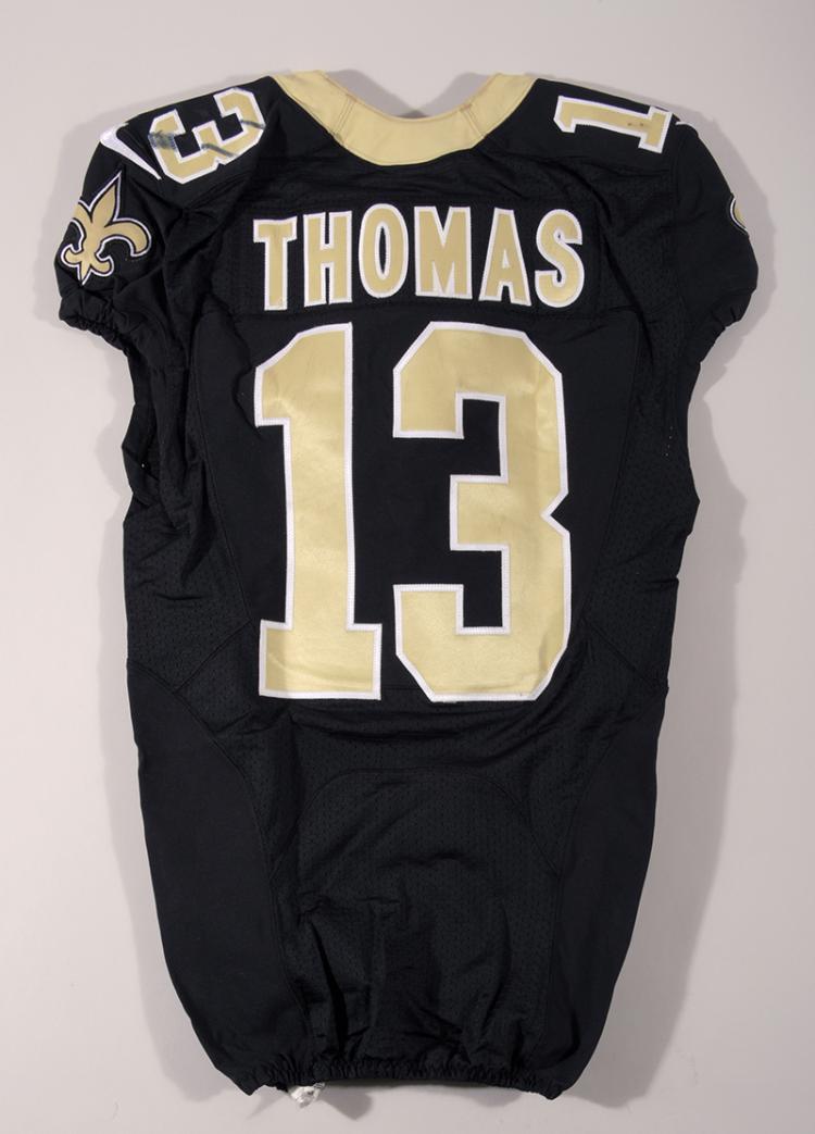 Lot - 11/13/2016 Michael Thomas game worn New Orleans Saints jersey.