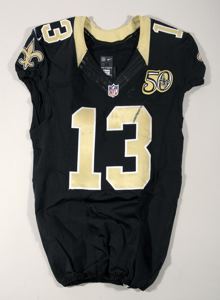 new concept 4485a fc314 11/13/2016 Michael Thomas game worn New Orleans Saints jersey.