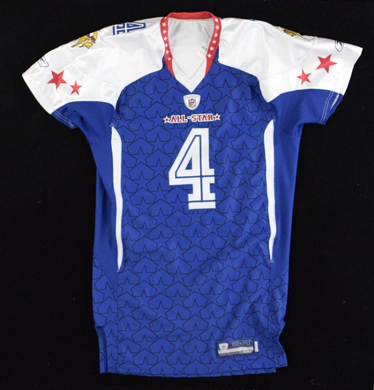 best service 18182 750c2 2010 Brett Favre professional model/quality Pro Bowl jersey.