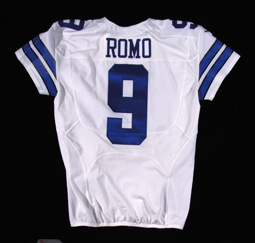 huge selection of 8515b 75055 2014 Tony Romo autographed Dallas Cowboys professional model ...