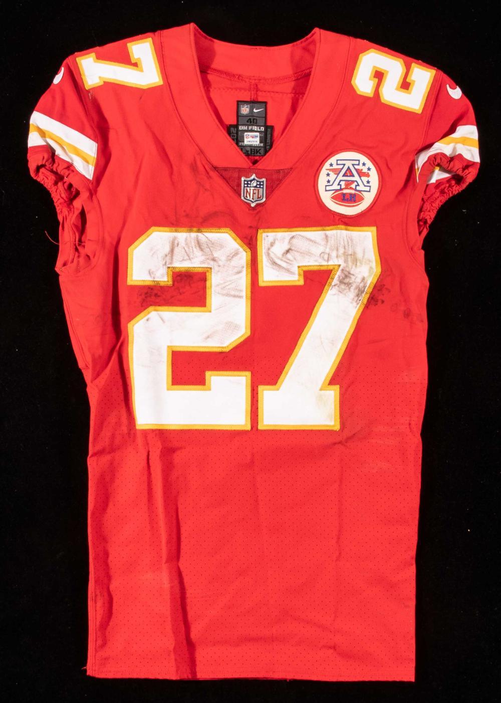 Kareem Hunt Kansas City Chiefs Game Jersey