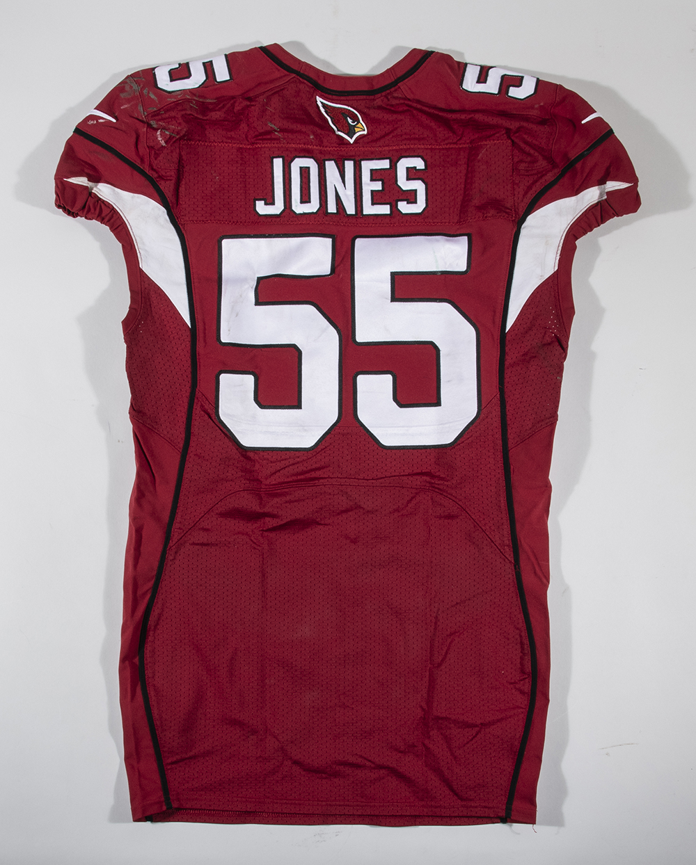 Lot - 10/17/2016 Chandler Jones game worn Arizona Cardinals jersey.