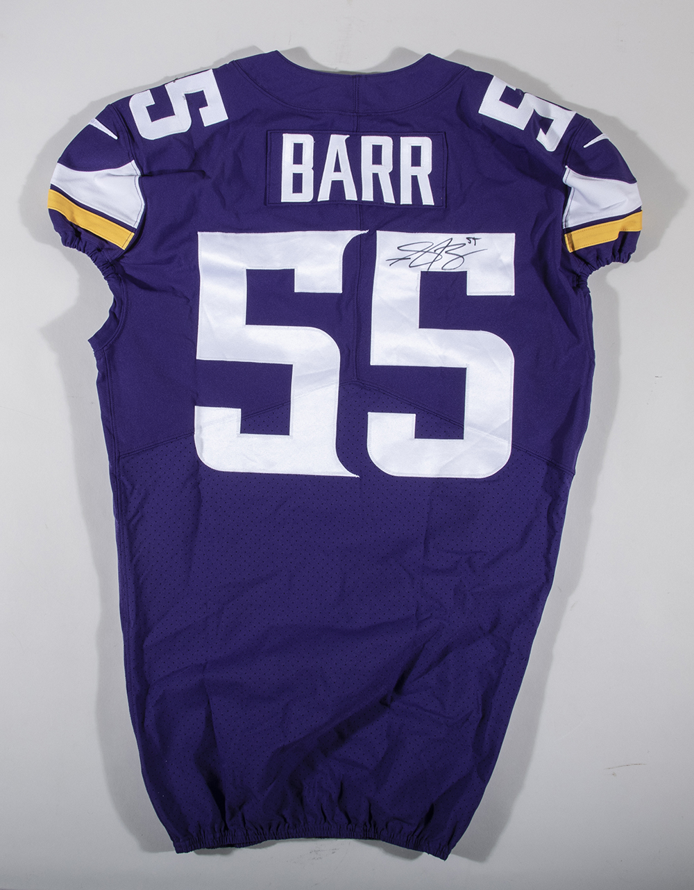 wholesale dealer 255ca ee77f 11/19/2017 Anthony Barr autographed Minnesota Vikings game ...