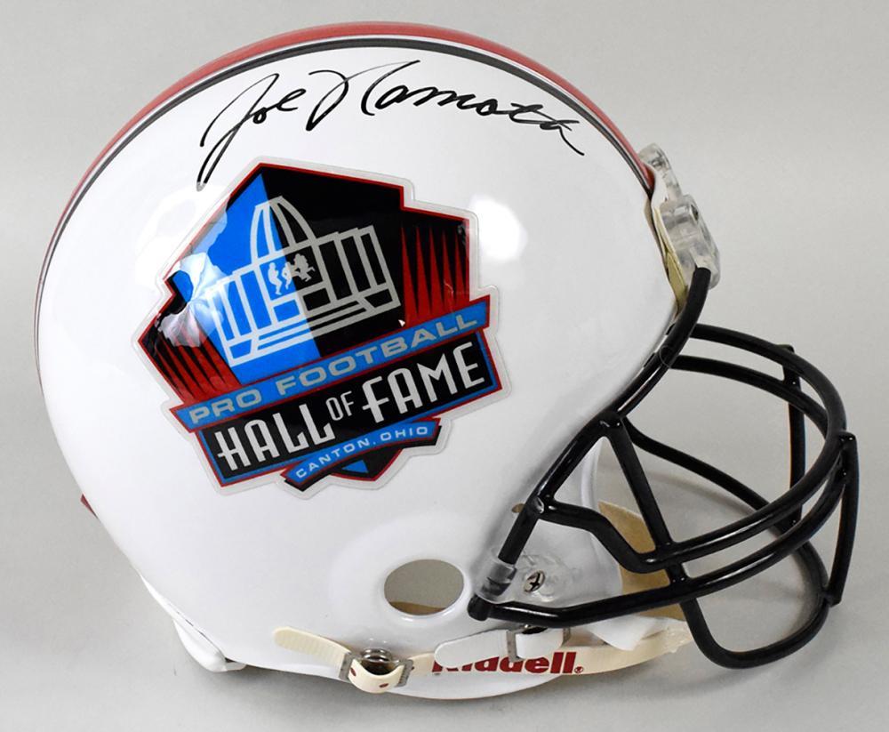 newest d3ac1 fb8a1 Joe Namath autographed Pro Football Hall of Fame full size ...