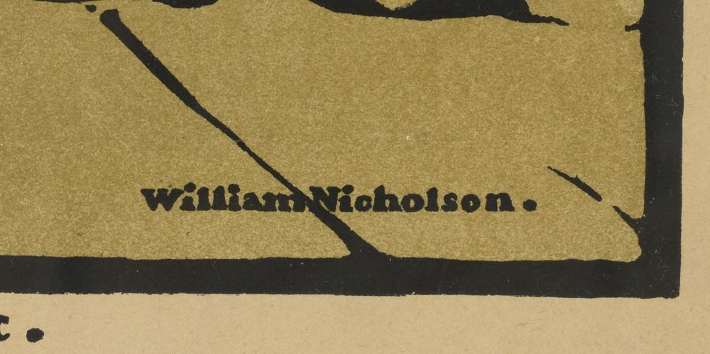 Sir William Nicholson (British, 1872 - 1949),