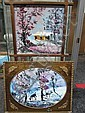 Morris Katz - 2 Oils on Board, Morris Katz, Click for value