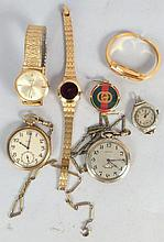 Assorted Pocket & Wrist Watches