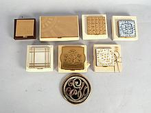 8 Assorted Vintage Compacts