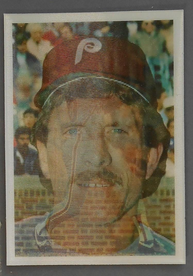 1986 Sportflics Baseball Card 44 Mike Schmidt